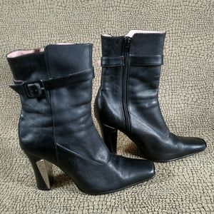 N.Y.L.A Leather Boots